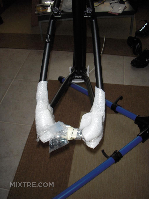 bike nashbar frame close up