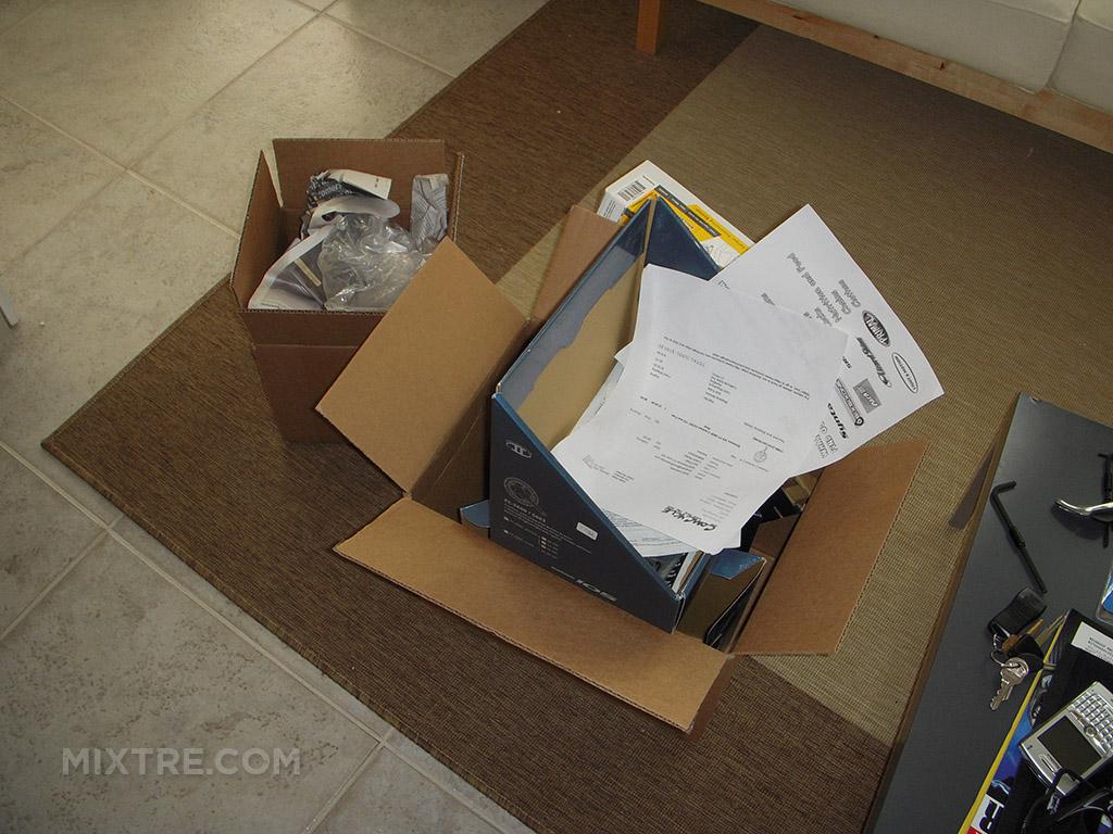 bike part boxes