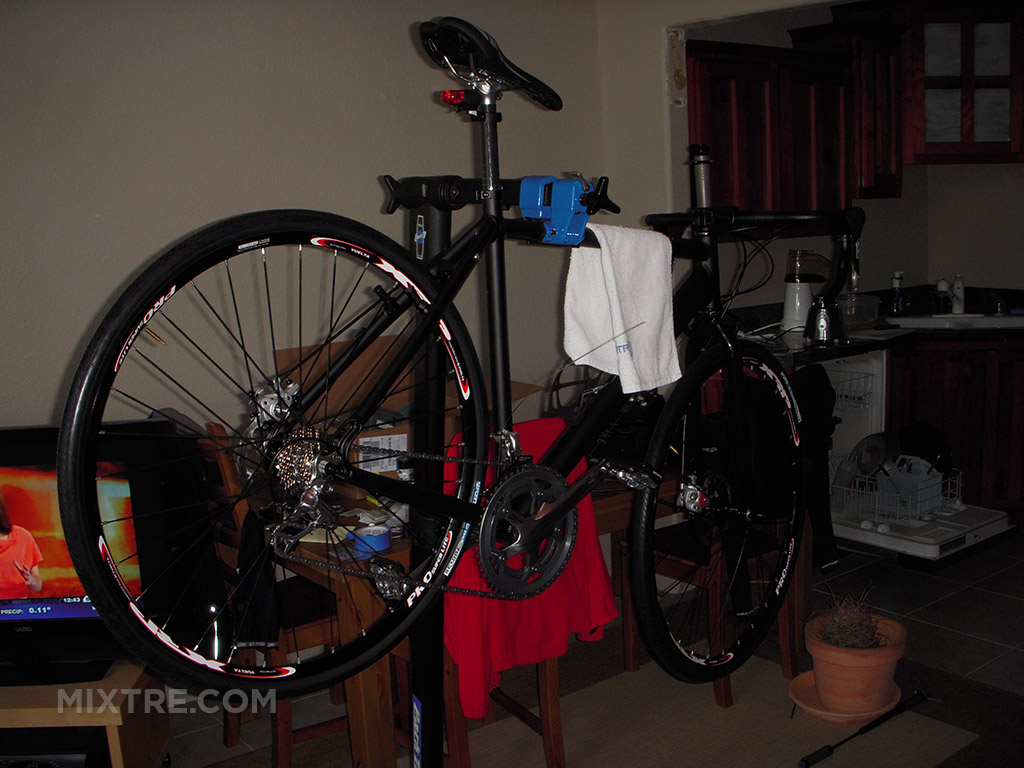 building a bike in my living room