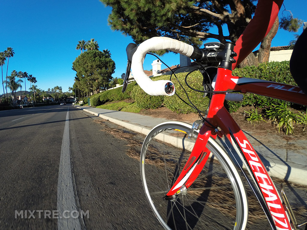 GoPro cycling photography