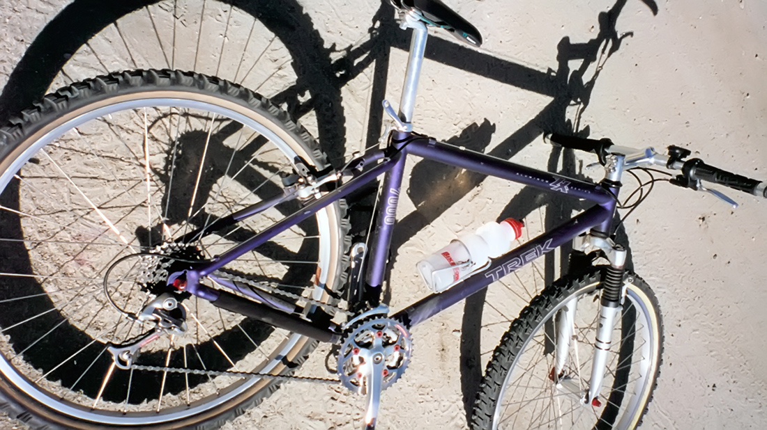 1996 purple trek 7000 mountain bike