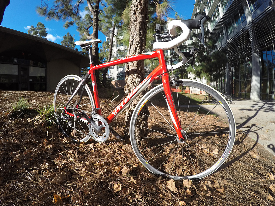 red 2007 Specialized Allez Comp