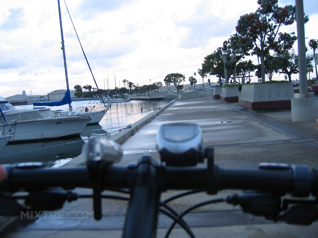 san diego embarcadero bike ride