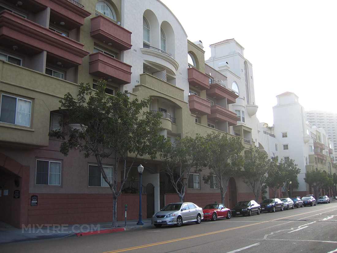 san diego 820 west G street apartments