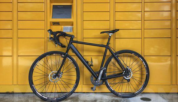 cross bike with Nashbar frame