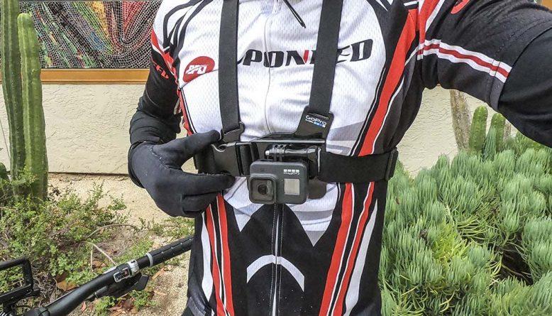 GoPro chest mount